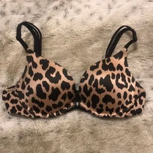 Victoria's Secret leopard print bra